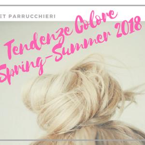 Tante proposte di tendenza colore per l'estate 2018