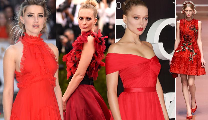 Red Passion: il rosso è il colore tendenza per l'Autunno-inverno 2018!