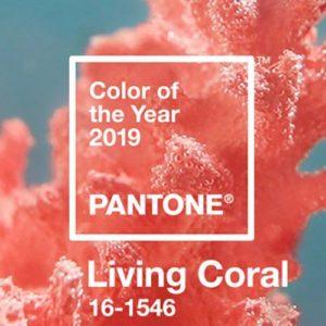Living Coral è il colore Pantone del 2019
