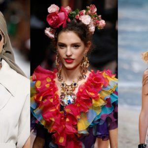 Gli accessori per capelli da indossare in estate
