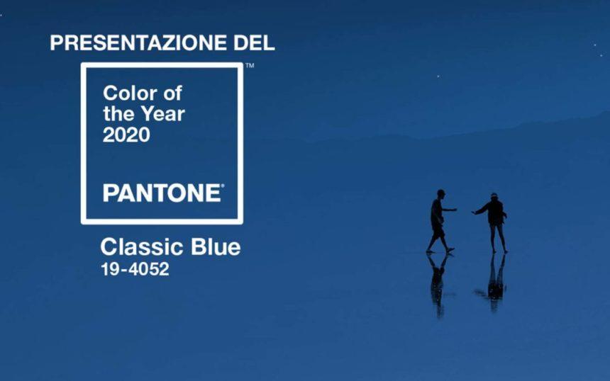 Il colore Pantone per il 2020 è il Classic Blue
