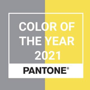 Colore Pantone 2021: Illuminating e Ultimate Gray